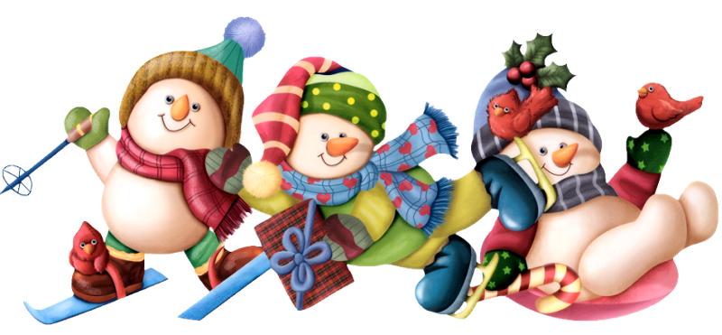 desenho natalino bonequinhos