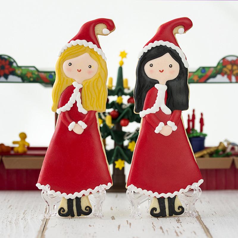 desenho natalino meninas
