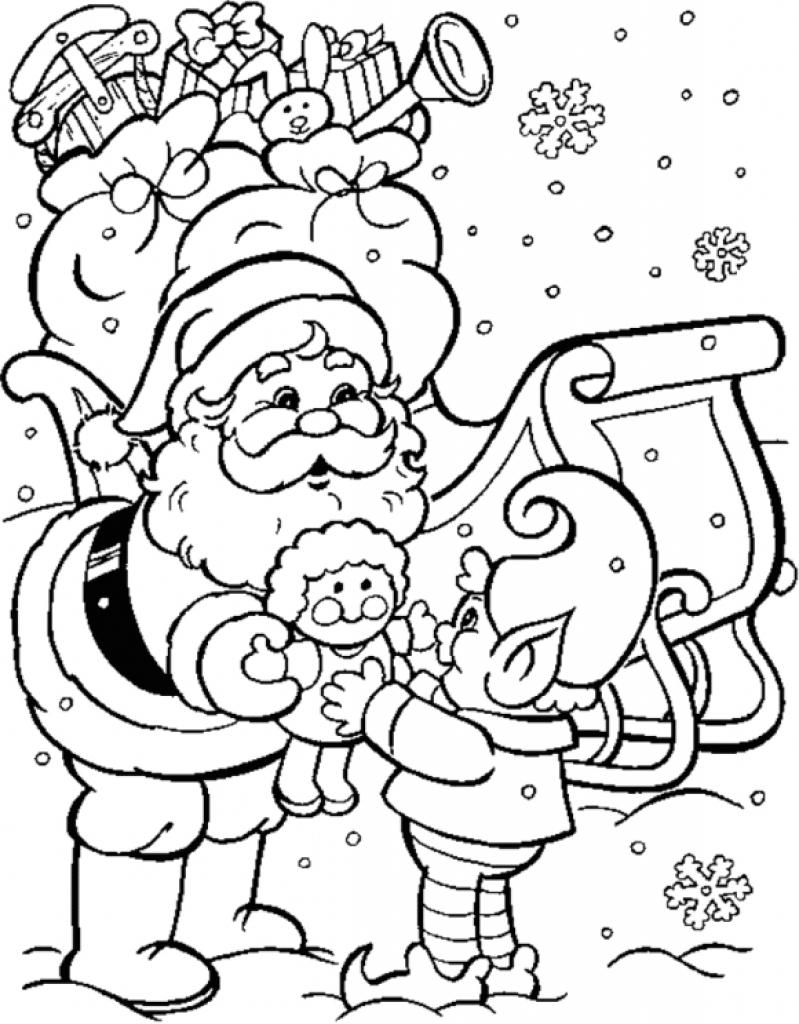 desenho natalino duende