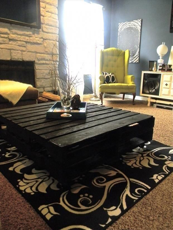 decor com pallets mesinha