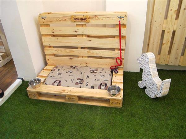 decor com pallets casinha