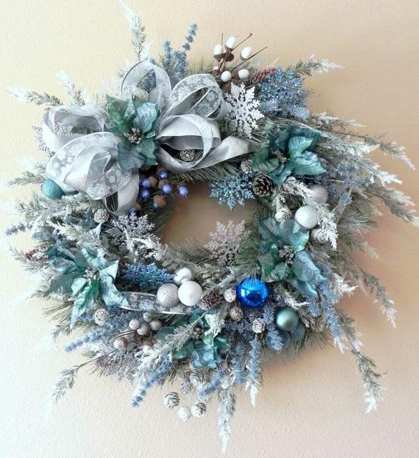 guirlanda de Natal azul