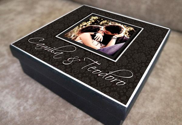 caixa decorada de mdf amor