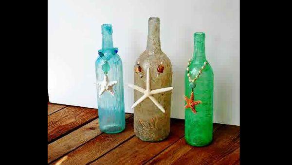 decoração com reciclagem rustico