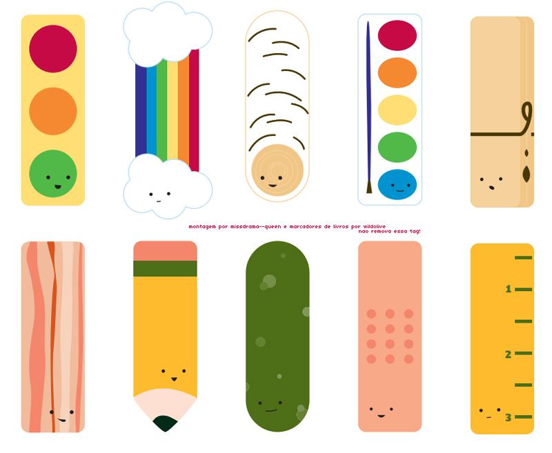 moldes marcadores