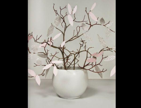 decoração com reciclagem  vaso