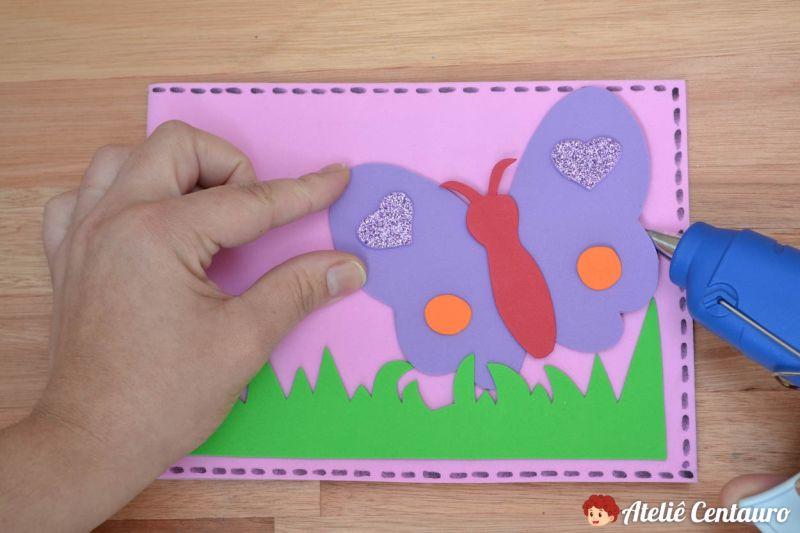 tutorial capa caderno eva