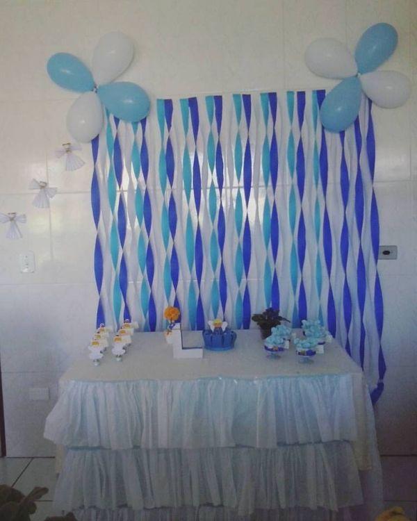 mesa com toalha