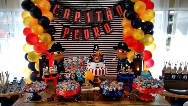 festa tema piratas