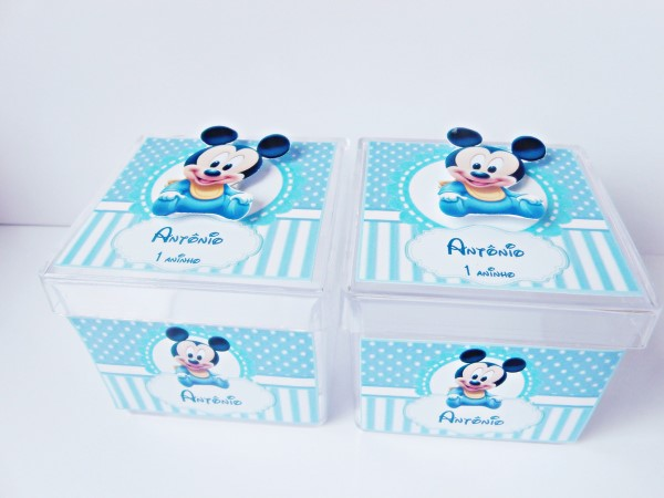 lembrancinhas mickey mouse na caixinha