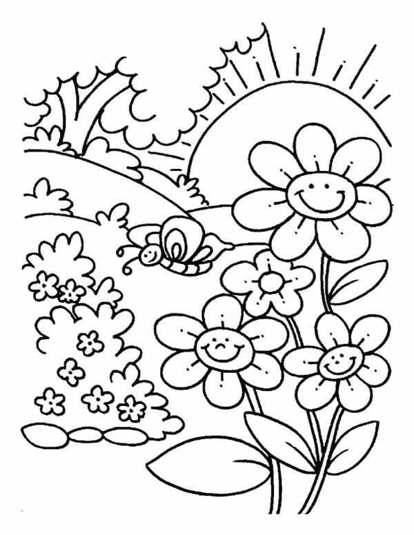 foto de desenho da primavera