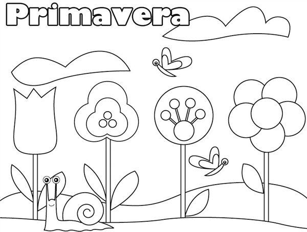 desenho da primavera