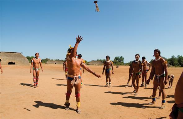 historia das brincadeiras indigenas