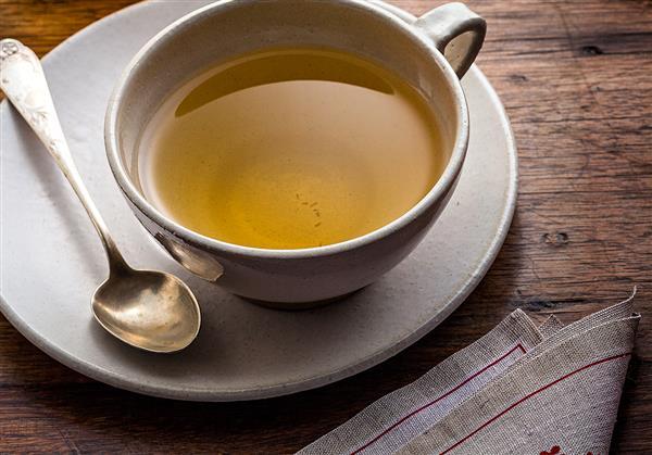 chá para gripe limão e alho