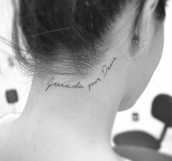 frases para tatuar deus