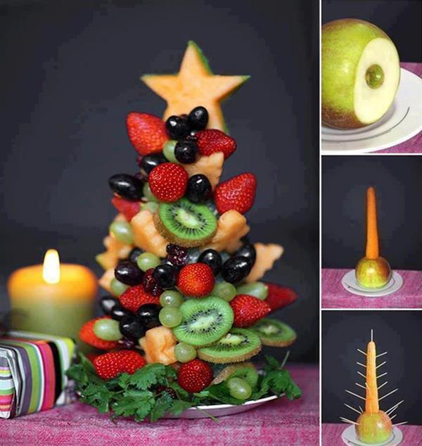 decoração de mesa de natal 2019
