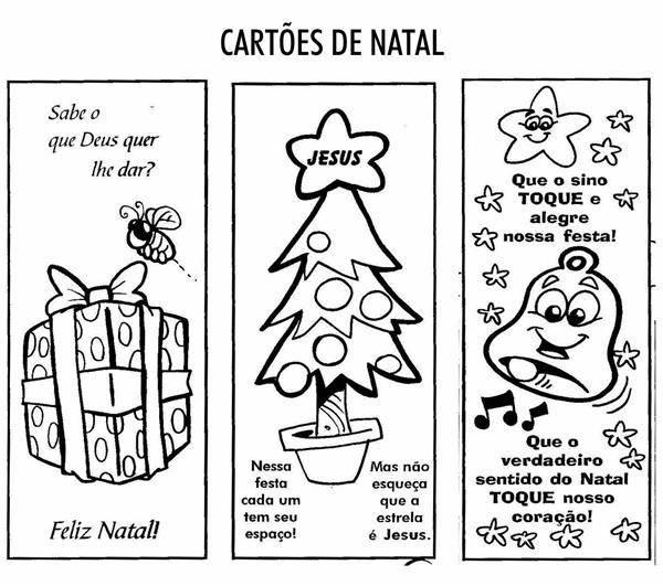 cartões de natal para imprimir gratis
