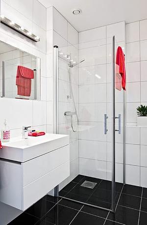 Fotos de banheiro com piso preto - Amueblar piso pequeno barato ...