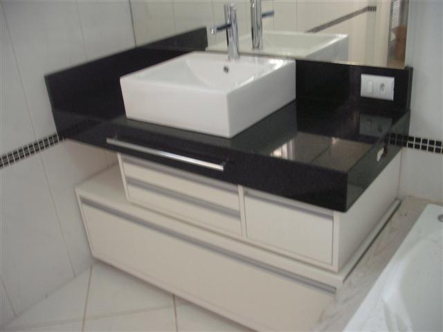 Banheiros decorados com granito -> Pia De Banheiro Com Granito Ouro Brasil