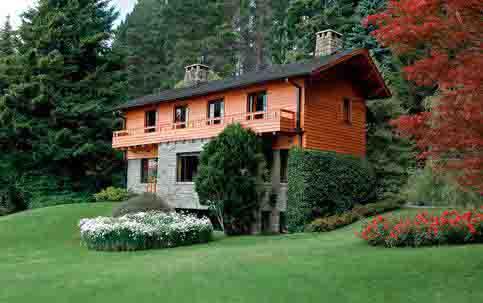 Modelos de casas de campo de luxo for Modelo de casa de campo