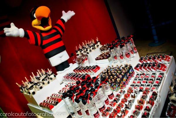Decoração De Festa Infantil Flamengo