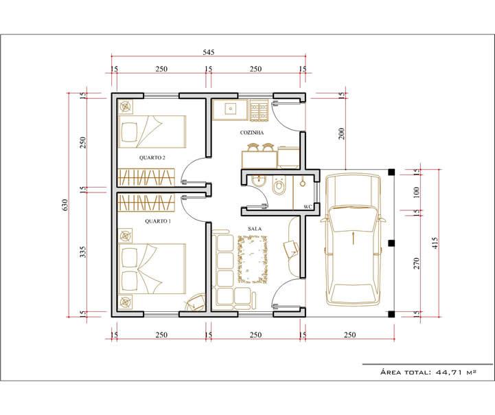 Plantas Casas Pequenas E Modernas Planta Baixa De Casas Pequenas E - Planos-de-casas-pequeas
