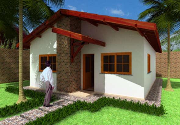 casa com 3 quartos moderna
