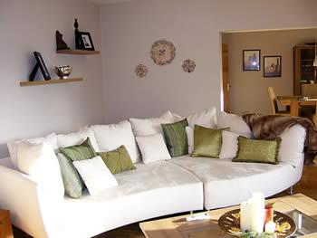 Como decorar o sof com almofadas for Como e living room em portugues