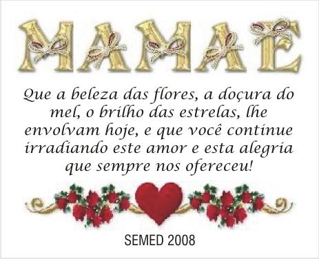 Frases Para O Dia Das Mães 2012