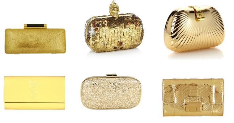 Bolsa De Mao Dourada Para Festa : Como usar bolsa de m?o em casamento