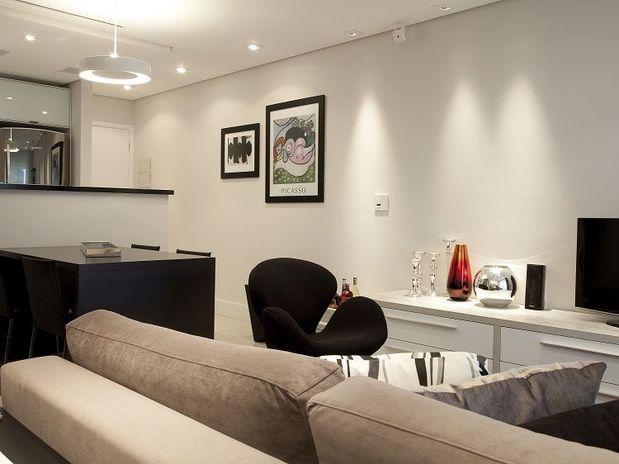 Fotos de decora o de salas de apartamentos for Imagenes de apartamentos pequenos