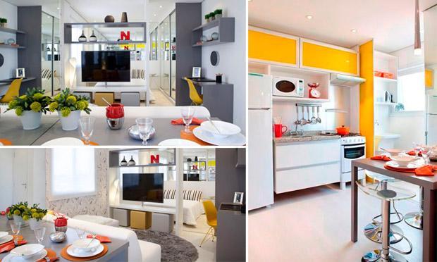 Como decorar um mini apartamento for Mini apartamentos modernos