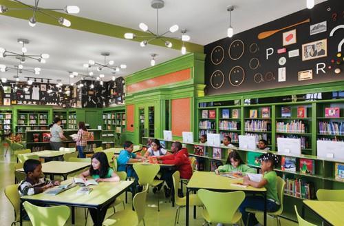 Innovative Classroom Architecture ~ DecoraÇÃo de biblioteca escolar