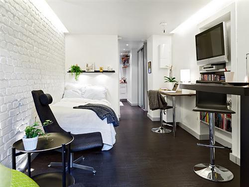 Como decorar um apartamento conjugado for Departamentos decorados
