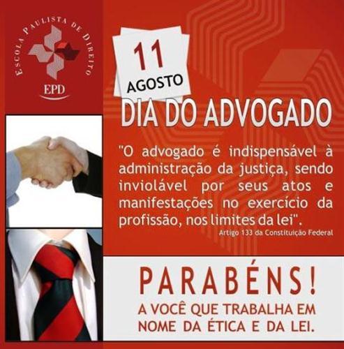 Mensagens Para Comemorar O Dia Do Advogado