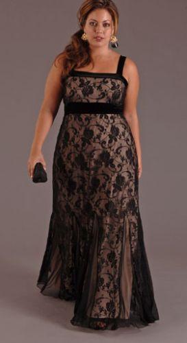 Vestidos de renda para gordas 2012