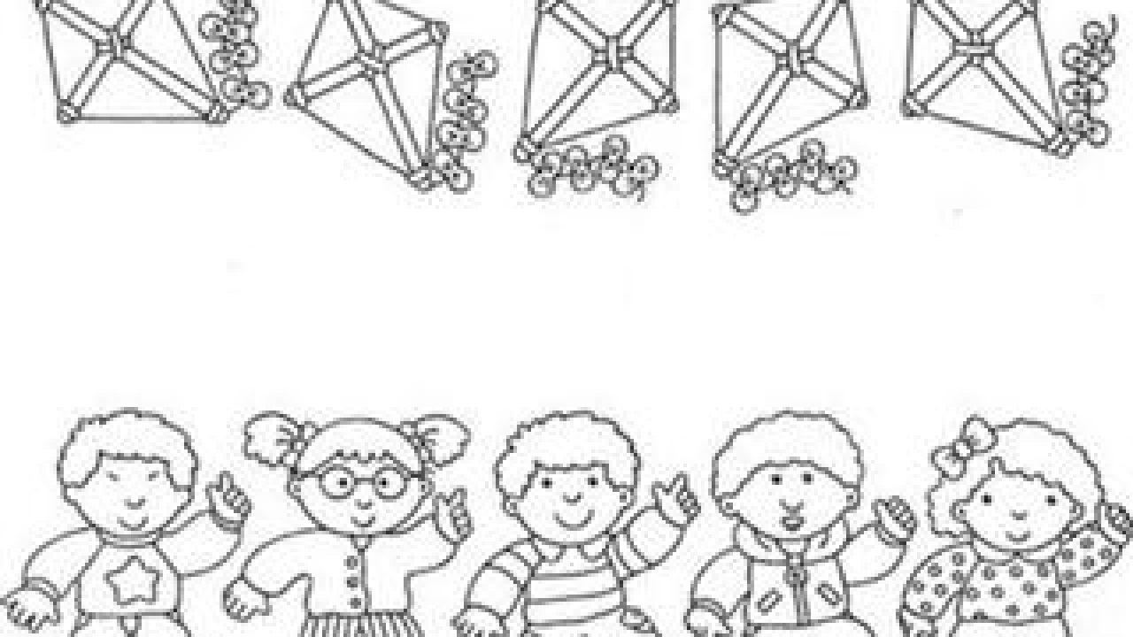 Desenhos Para Colorir Do Dia Da Infancia