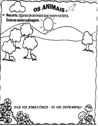 Atividades Para O Dia Da Amazônia