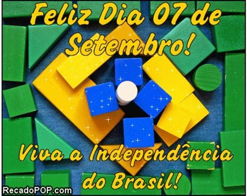 Recados Para O Dia Da Independência Do Brasil