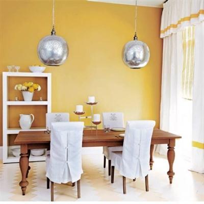 Como usar amarelo na decora o dicas for Comedor diario decoracion