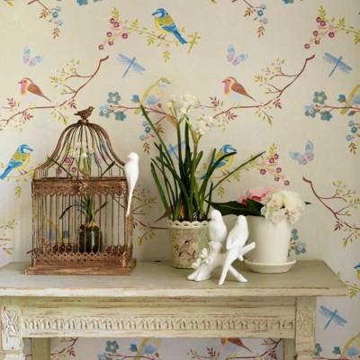Decora o floral para sala - Objetos vintage para decorar ...