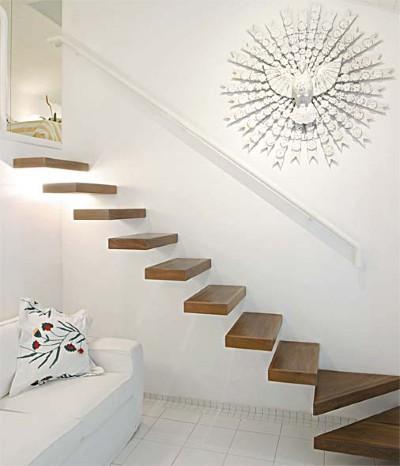 Modelos de escadas de madeira for Casa moderna numero 2