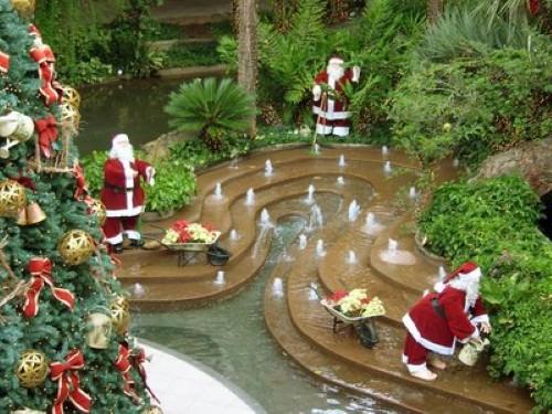 Como decorar o jardim para o natal for Casa jardin decoracion