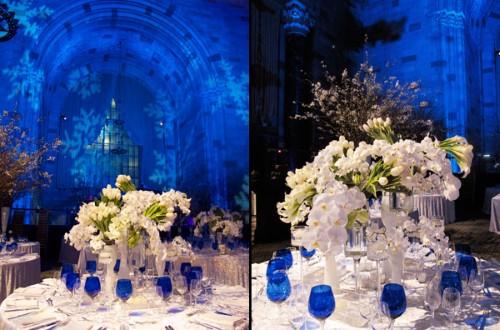 Festa azul royal para casamento (Foto:Divulgação)