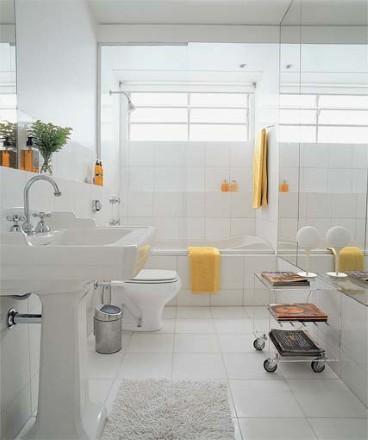 Banheiro pequeno com banheira e boxe fotos - Reformas pisos pequenos ...