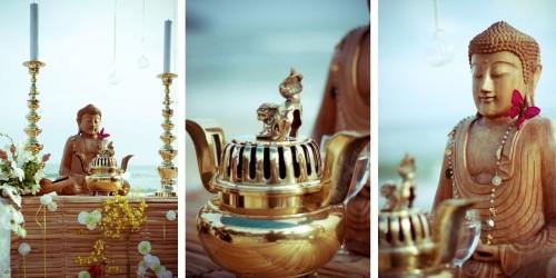 Como decorar um casamento budista (Foto:divulgação).