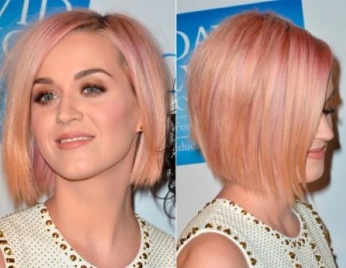 Fotos de cabelos colorido, rosa e loiro  (Foto:Divulgação).