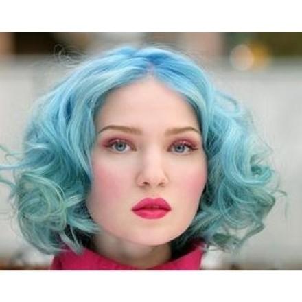 Azul delicado para cabelos  (Foto:Divulgação).