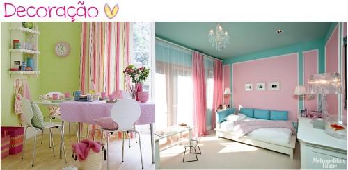 Detalhes decorativo Candy Colors