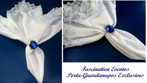 Detalhes em azul royal para casamento (Foto:Divulgação)
